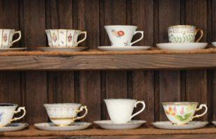 珈琲花のコーヒーカップ