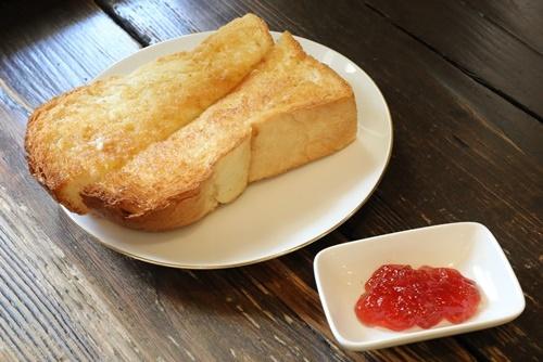 芦屋の珈琲花のトースト