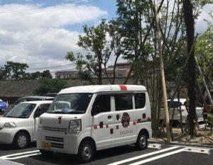 萩原珈琲の営業車