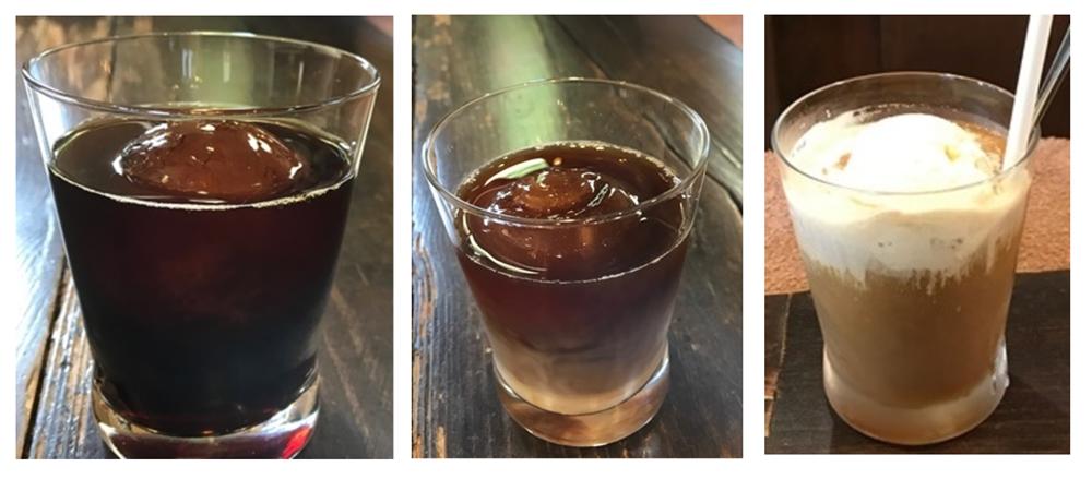 アイスコーヒー・アイスオーレ・コーヒーフロート