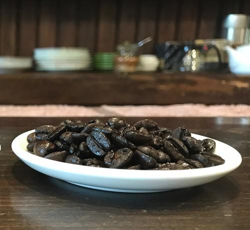 サントス・ニブラの豆