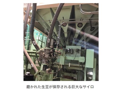 萩原珈琲・神戸工場のサイロ
