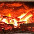 萩原珈琲の工場の焙煎窯