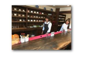 芦屋の喫茶店・珈琲花店内