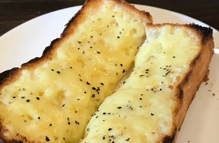 チーズトースト試作