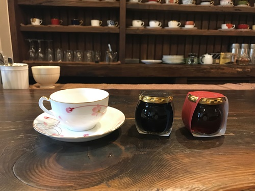 萩原珈琲・コーヒーゼリーと紅茶ゼリー